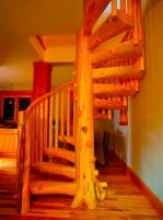 Ознакомительные вопросы монтажа деревянных лестниц, фото