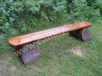Садовая мебель, мебель из бревна, мебель для дачи, уличная мебель.