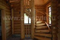 Дом из оцилиндрованного бревна Проектируем, производим и строим деревянные дома из.